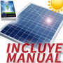 Panel Solar - 12 V 30 Watt - Celda Energia P/ Cargar Bateria