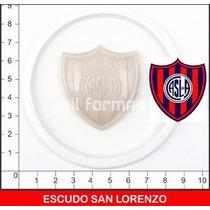 Molde Escudo San Lorenzo Moldes Mil Formas