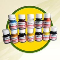 Pintura P/sublimacion Eterna 37ml Promo X 5 Colores Matade