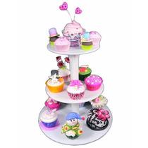 Base 3 Pisos Parpen Porta Cupcake