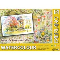 Papel Para Acuarela Watercolour 25x35 200gr 12hjs - Congreso
