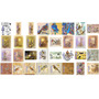 Láminas Decoupage - Pajaros Mariposa L7 - Diseños Originales