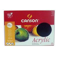 Canson Block Acrilico-oleo 400gr 24x32 Cm. 10 Hojas (11573)