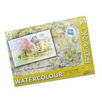 Block 300g 25 X 35 Fabriano Watercolour 12 Hojas (525)