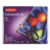 Lapices Color Derwent Coloursoft X 24 ( 13351 ) Ox Artistica