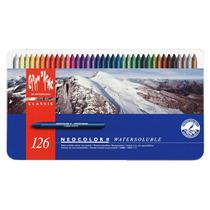 Set Crayones Carandache Neocolor Ii X 126 (3259)