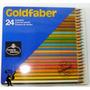 Lapices De Colores Acuarelables Goldfaber X 24 Alemanes Lata