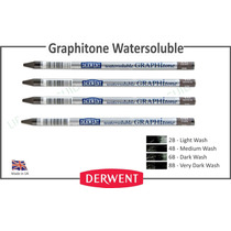 4 Lapices Graphitone Watersolouble Derwent Grafito Sin Mader