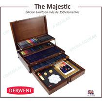 Mueble Madera Edición Limitada Lapices 150u Majestic Derwent