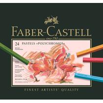 Pastel Tiza Faber Castell Polychromos 24 (11948)