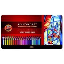 Lapices Polycolor Koh-i-noor X 72 Lata