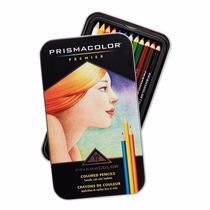 Lapices Prismacolor Premier Lata De 12 Colores