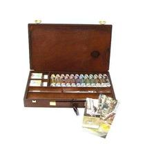 Set Madera Oleo Rembrandt Professional Box 12 Pomos (15226)