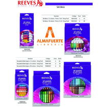 Oleos Reeves X 18 Pomos De 12ml