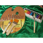 Artistica Pinceles+paleta+espatula +oleos+pinceletas