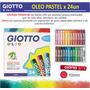 Caja 24 Oleos Pastel Giotto Barras Oleosas Italia