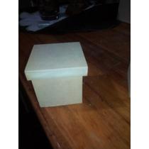Cajitas De Fibrofacil De 6x6 Con Tapa Caja De Zapatos