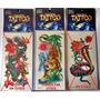 Tattoo Temporal-fiestas-disfraces- Cumpleaños-tatuajes