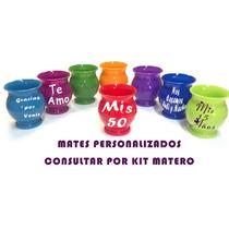 Mates Plasticos Personalizados - Souvenirs