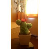 Tazas, Mates, Cactus Al Crochet Colores A Elección!!!