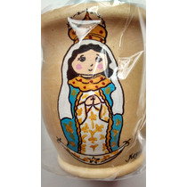 Virgen De Itati Mate Artesanal Unico !