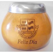 Mates De Calabaza Souvenir Laser Personalizados Con Su Logo