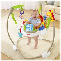 Silla Jumper Saltarin Fisher Price Rainforest Luces Musica