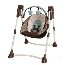 Columpio Graco Swing By Me P/ Bebes Plegable Babymovil