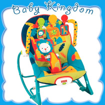 Silla Mecedora Bebesit Fisher Price Safari. Crece Conmigo.
