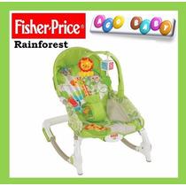 Silla Mecedora Fisher Price Modelo Rainforest - Nueva !