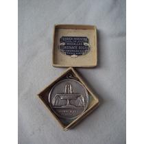 Medalla Obras Sanitaria De La Nacion,plata