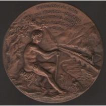 Medalla Ferrocarril Norte A Ledesma Y Oran 1903 Exc