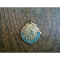 Antigua Medalla Futbol Club Argentino Mendoza Campeon 1959