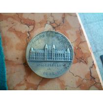 Antigua Medalla Inaguracio Palacio Gobierno Santa Fe 1908