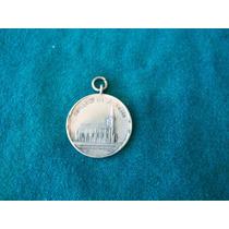 Antigua Medalla Capilla Nuestra Señora Lujan Ernestina 1912