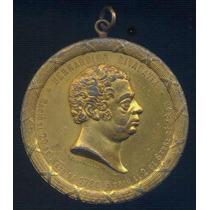 Medalla 1° Centenario Natalicio De Bernardino Rivadavia 1880