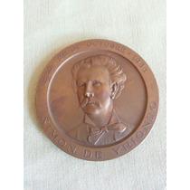 Placa Medalla De Bronce Antigua Gotuzzo Y Piana