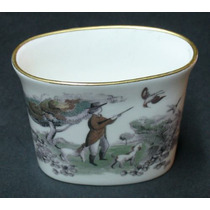 Recipiente En Porcelana Inglesa Royal Worcester Caceria