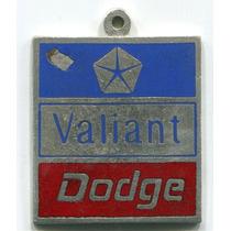 Antigua Medalla Automovil Dodge Valiant
