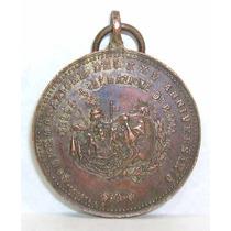 Antigua Medalla Conmemorativa Xxv Aniv Liberacion De Roma