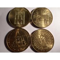 Lote De Cuatro Medallas Francesas Edición Limitada