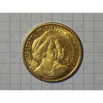 Medalla Elizabeth Ii Edinburgo 7,7 Gr 29 Mm