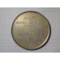 Medalla Junta De Historia Numismatica Americana A Enrique Pe
