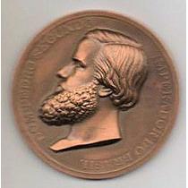 Hermosa Medalla Brasil De Pedro Segundo Md 3355