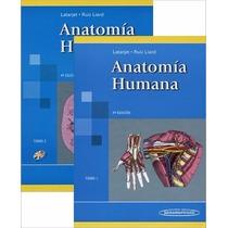 Anatomia Humana Latarjet R.l. 2 Tomos Nuevos Oportunidad!
