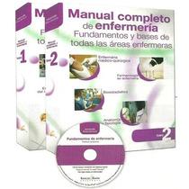 Manual Completo De Enfermería Barcelbaires 2 Tomos + Cd-rom