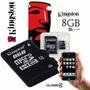 Tarjeta Memoria Micro Sdhc 8gb Kingston Celular/smartphone