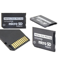 Memory Stick Pro Duo Adaptador Micro Sd Hc Camaras Psp Play