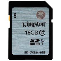 Memoria Sd Hc 16gb Kingston Clase 10 Full Hd Sdhc