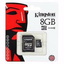 Memoria Micro Sd Sdhc Kingston 8gb Clase 10 Full Hd